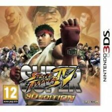 Super Street Fighter IV in 3D Game 3DS Brand New