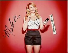 """MELISSA RAUCH """"THE BIG BANG THEORY"""" IN PERSON SIGNED 8X10 COLOR PHOTO 1"""