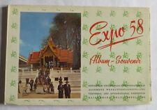 Expo 58 – album souvenir – 1958