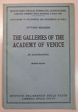 The Galleries of the Academy of Venice, by Vittorio Moschini, 7th Ed., SC 1960