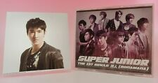 CD+DVD+Photo Card Super Junior BONAMANA 1st Press Limited Japan Siwon AVCK-79017