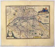 Tours - Touraine - Turonensis Ducatus - Hondius - Janssonius 1636 Karte-Map