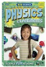 Kid Science PHYSICS EXPERIMENTS DVD  NEW  Magnetism Electricity Friction & More
