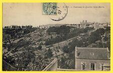 cpa 02 - LAON (Aisne) Panorama du Quartier SAINT MARTIN et Cuve SAINT VINCENT