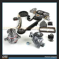 2.5 2.7L SUZUKI CHEVROLET COMPLETE TIMING CHAIN KIT + WATER OIL PUMP H25A H27