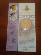 2003 Gold Silver Proof 1oz $5 Five Dollar Coin. Queens Jubilee St Edwards Crown