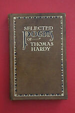 *VINTAGE* SELECTED POEMS OF THOMAS HARDY - GOLDEN TREASURY SERIES (H/cover 1924)