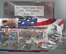 1996 P&D 11 Coin Uncirculated US Mint Set With West Point Dime