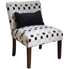 HomePop Contemporary Accent Chair with Pillow