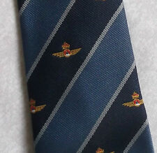 VINTAGE CLUB ASSOCIATION TIE CREST EMBLEM NAVY 1980s 1990s NAVY REGIMENTAL CROWN