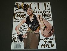 2009 NOVEMBER VOGUE PARIS MAGAZINE - ISABELI FONTANA - FRENCH FASHION - O 1261