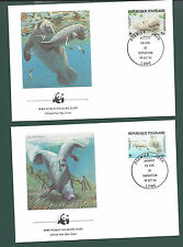 COVERS: World Wildlife Fund Official First Day Cover, 1984. Set of 4 covers.