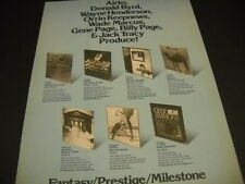AIRTO Donald Byrd ORRIN KEEPNEWS others 1975 Jazz PROMO POSTER AD mint condition