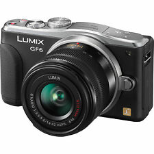 Panasonic LUMIX DMC-GF6 16.0MP Digital Camera - Black (Kit w/ 14-42mm ASPH Lens)