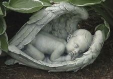Concrete / Plaster Mold Sleeping Baby In Wings  Latex / Fiberglass