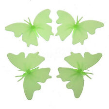 Glow In The Dark Butterfly Fluorescent Decal Art Wall Stickers Kid Home Decor