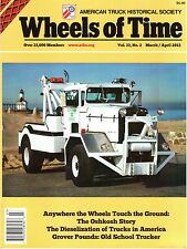 OSHKOSH TRUCK History, P2025 wrecker, Early diesel truck campaign, freight patch