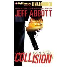 COLLISION unabridged audio book on CD by JEFF ABBOTT