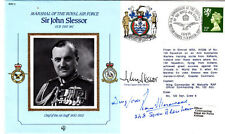 Sir J.Slessor Signed Gp Capt John  Slessor & R E G Morewood Pilot in Battle of B