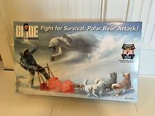 "Fight For Survival - Polar Bear Attack - 2006 GIJOE 12"" Convention Large Set"