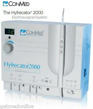 NEW ! CONMED HYFRECATOR 2000 35W HIGH FREQUENCY ELECTROSURGICAL GENERATOR