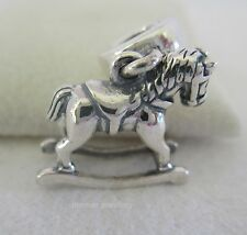 Genuine Authentic Pandora Sterling Silver Rocking Horse Dangle 791413