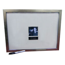 Personalised Signature / Message Photo Frame Wedding Guest Book Alternative