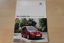 75352) VW Caddy Colour Concept Prospekt 12/2005