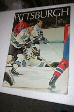 1970-71 PITTSBURGH PENGUINS SPORTS MAGAZINE- FROM THE GARDENS- EXTREMELY RARE!