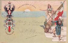 CARTOLINA DEL 84° REGGIMENTO FANTERIA PER IL RE E PER LA PATRIA 1902  C4-33