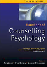 Handbook of Counselling Psychology-ExLibrary