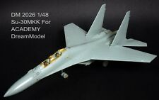 Dream Model 2026 1/48 Su-30MKK Flanker Detail Up Etching Parts for Academy