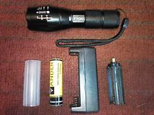 AlumiTact T700 Tactical Led Zoom Flashlight.Military Tech ships from Florida.