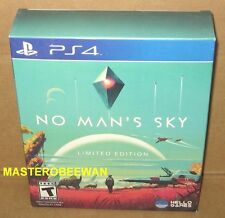 PS4 No Man's Sky: Limited Edition New Sealed + Gamestop EXCLUSIVE DLCs