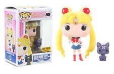 Funko Pop! Sailor Moon Hot Topic Exclusive - Sailor Moon (w/ Moon Stick & Luna)