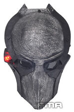 Cool Luminous Alien Vs Predator AVP Falconer Full Face Wire Mesh Protection Mask