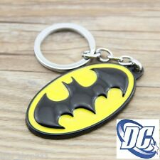 BATMAN LOGO Raised Detail Classic DC Comics Movie Full Metal Key chain cosplay