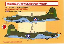 KORA Models 1/72 BOEING B-17E FLYING FORTRESS OVER JAVA & AUSTRALIA Resin Set