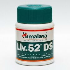 1 x Himalaya Liv-52 DS Tabs Gym/Liver Supplement 100% Herbal Healthcare-60 tab.