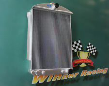 Fit Chevy Car Street Rod Auto 1940-1941 Hi-perf. Aluminum Alloy Radiator 56MM