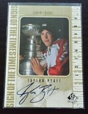98/99 SP Authentic Sign of the Times TAYLOR PYATT Team Canada Gold Auto 93/100