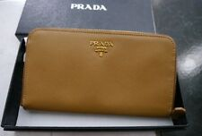 NWT 100% AUTH Prada Saffiano Leather Zip Continental Wallet $665 1M0506