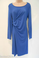 M&S Bright Blue Straight Day/Evening Party Dress (NEW)-UK Size 12-£35.00
