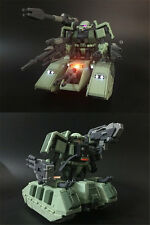 MK Motor King MG 1/100 MS-06V ZAKU TANK with LED green color