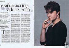 Coupure de presse Clipping 2012 Daniel Radcliffe   (2 pages)