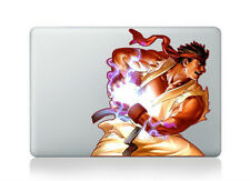 Street Fighter RYU Macbook Stickers Macbook Air / Pro Decals Skin for Macbo