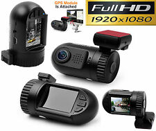 2016 Ambarella Dash Cam Mini Car DVR Pro + GPS Full HD 1080P BLACK BOX DashCam