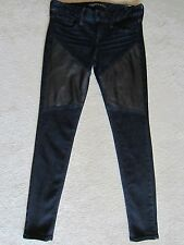 EXPRESS STELLA ANKLE LEGGING PRECISION FIT FAUX LEATHER LOW RISE SKINNY JEANS 0