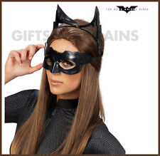 Batman Dark Knight Rises CATWOMAN adult brown wig Halloween costume accessory