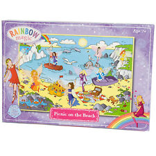 Rainbow Magic pique-nique sur la plage à 250 Piece Jigsaw Puzzle